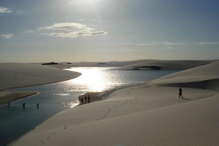 Trekking in Lençóis Maranhenses