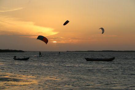 Kitesurf in Lençóis Maranhenses